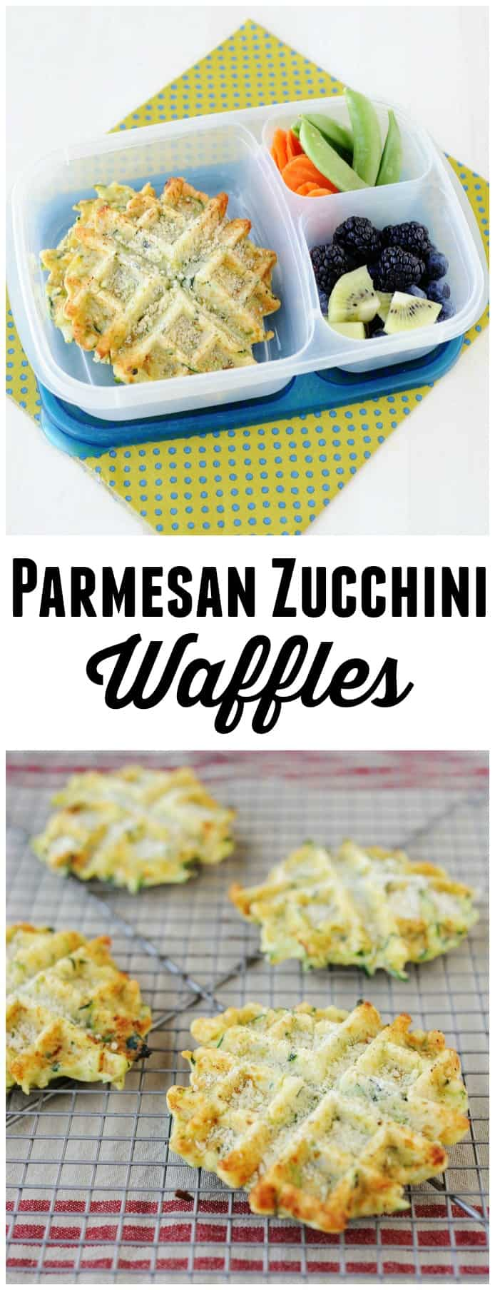 Need a way to use up zucchinis? This zucchini waffle recipe is easy to make and super delicious! Leftovers can be frozen or saved for later.