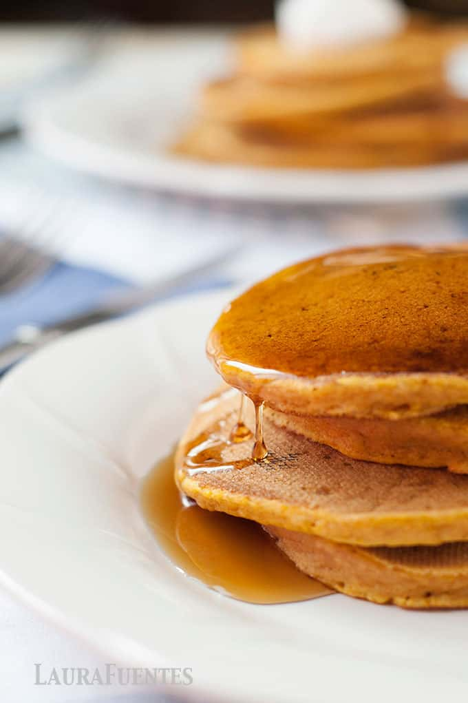 perfectly delicious pumpkin pancakes for a crowdpleasing breakfast!