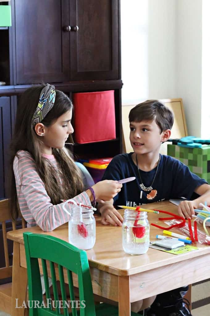 crafts at home are part of homeschooling