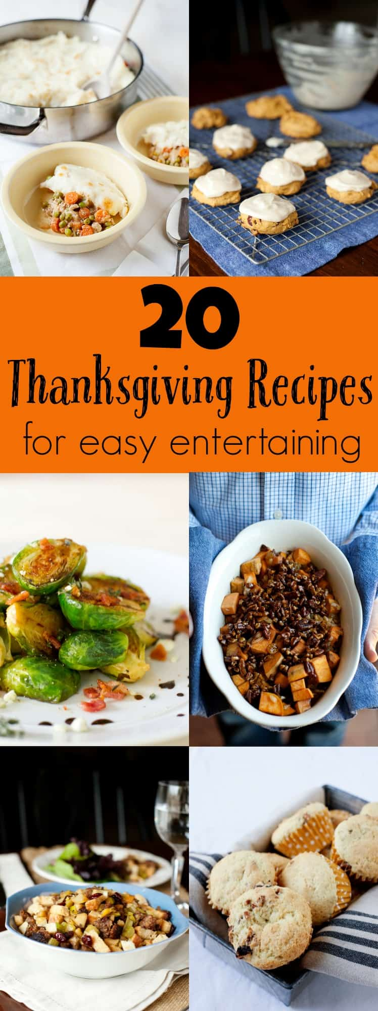 Need a Thanksgiving Meal Plan for easy entertaining? This 20 recipe ebook offers prep-ahead and storage tips and recipes with real ingredients!
