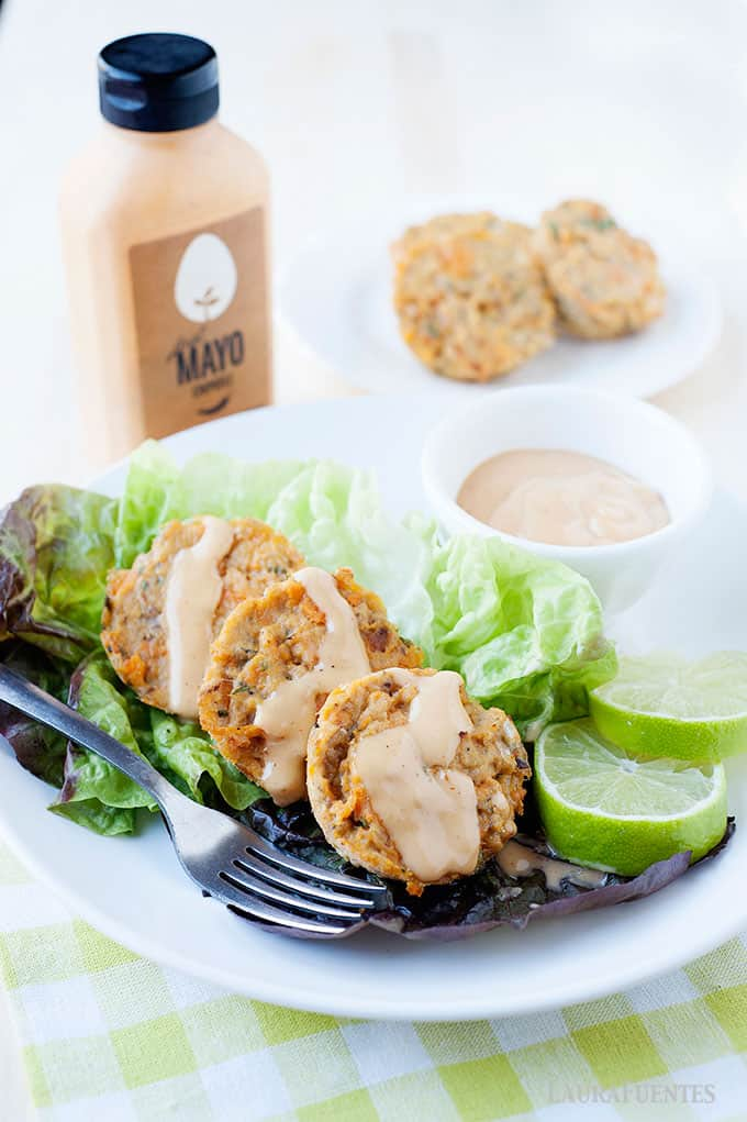 Salmon Cakes with Just Mayo