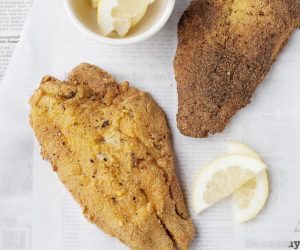 Crispy and full of flavor is exactly what you'll think of this New Orleans Catfish!