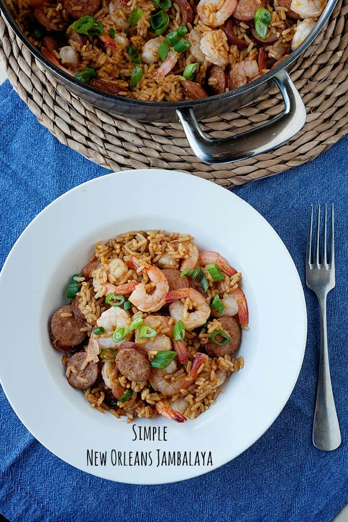 need a simple recipe for New Orleans Jambalaya? Check out how many of us locals make it and love the dish!
