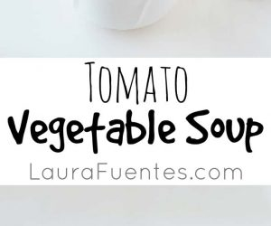 Do you love tomato soup but still feel hungry and left wanting more? This Tomato Vegetable Soup is filled with nutritious veggies to keep you satisfied.