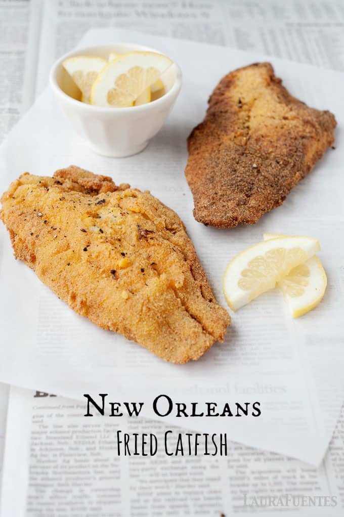 Authentic New Orleans Fried Catfish Recipe to make at home!