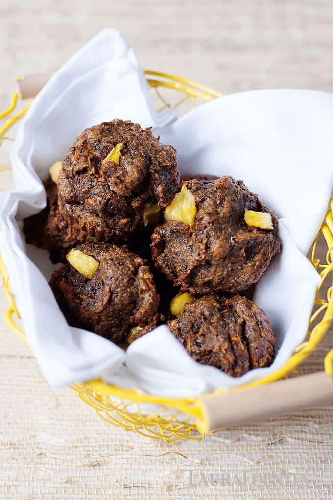 High Fiber Paleo Breakfast Muffins