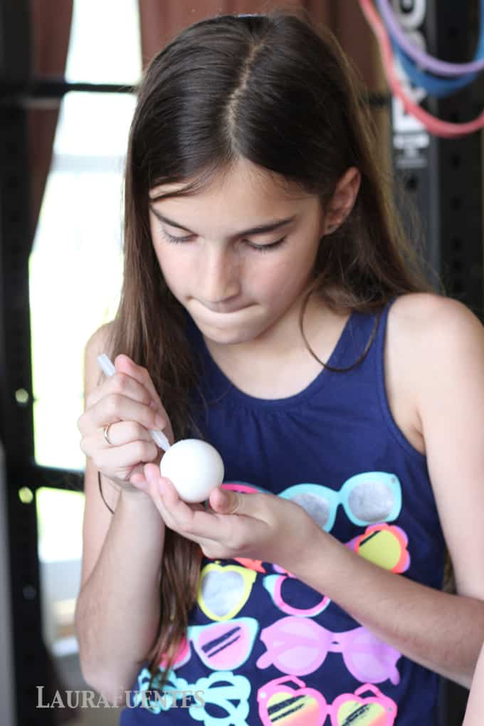 Dyeing Easter Eggs: Family fun with crafts during the holidays.