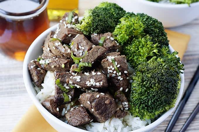 Asian Beef and Broccoli Bowls Recipe