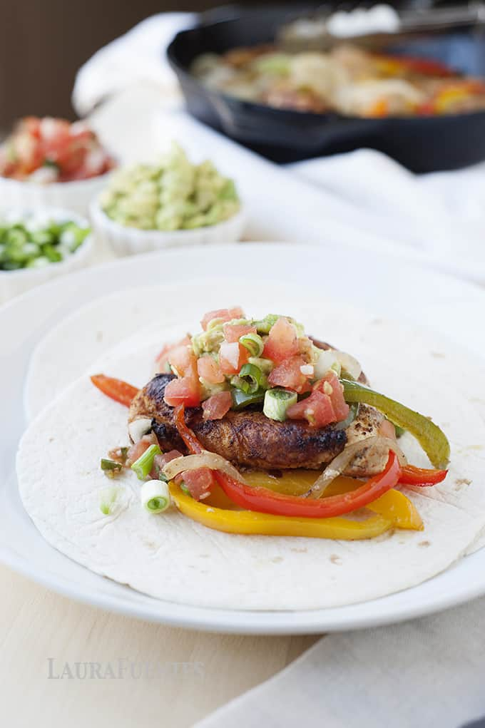 How to make chicken fajitas at home laura fuentes chicken fajitas recipe for the easiest homemade chicken fajitas forumfinder Images