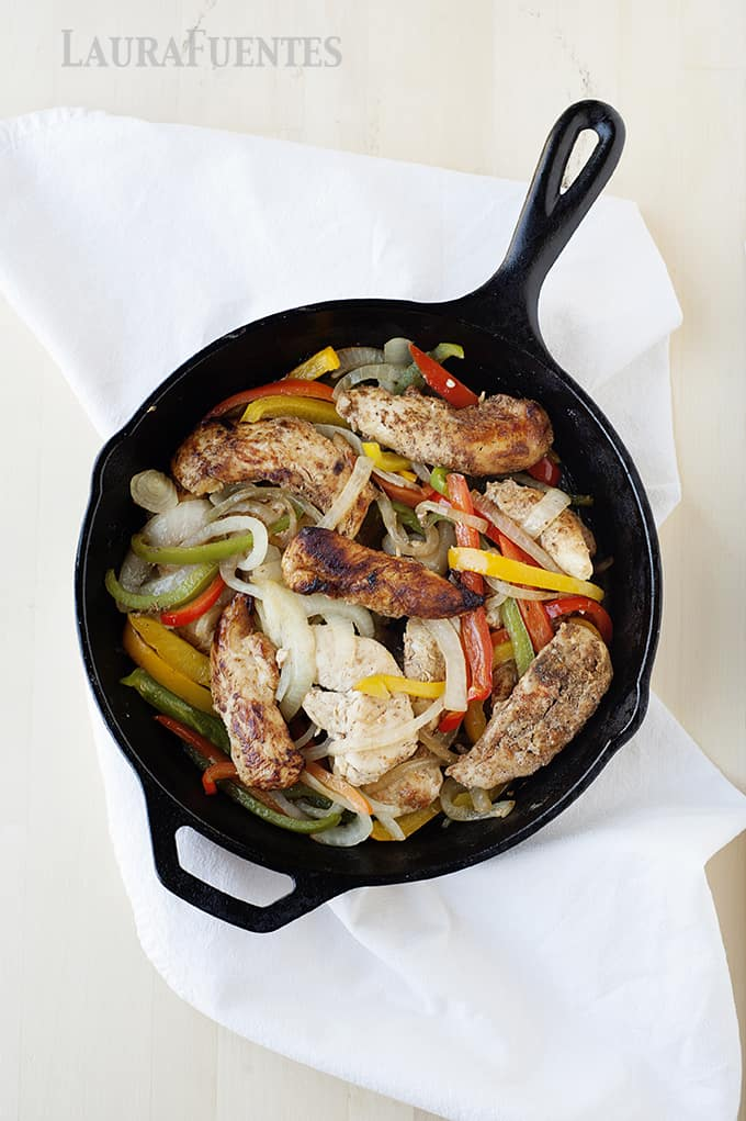 how to fix chicken fajitas