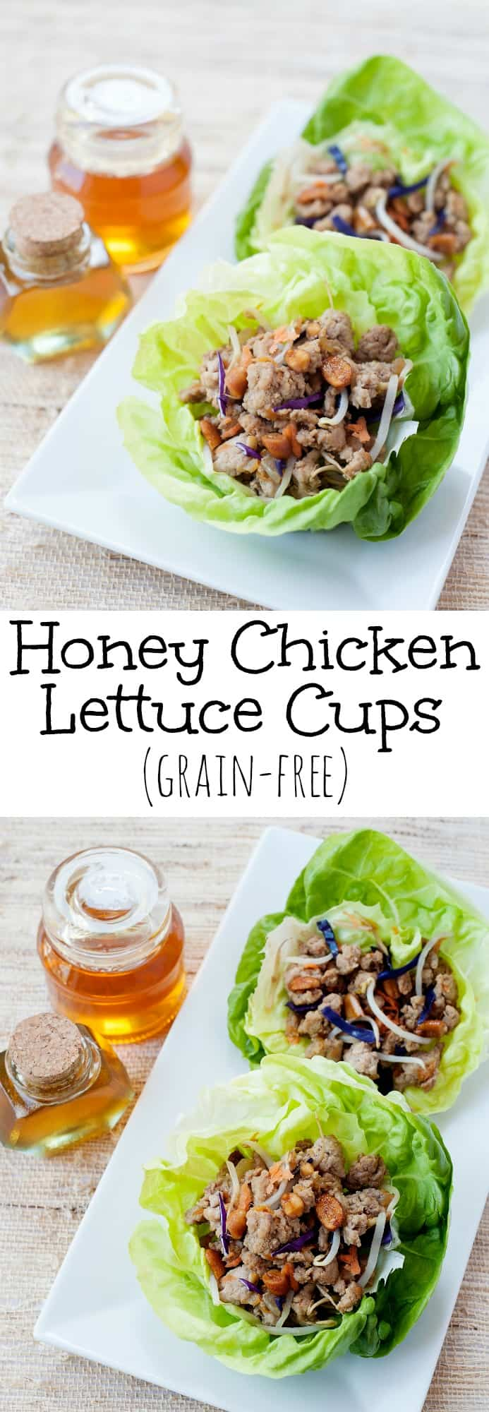 Chicken Lettuce Cups: Easy skillet recipe for Asian style lettuce ...