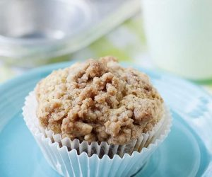 Good lord. these pear crumble muffin recipe is a must make! it's super moist and delicious.