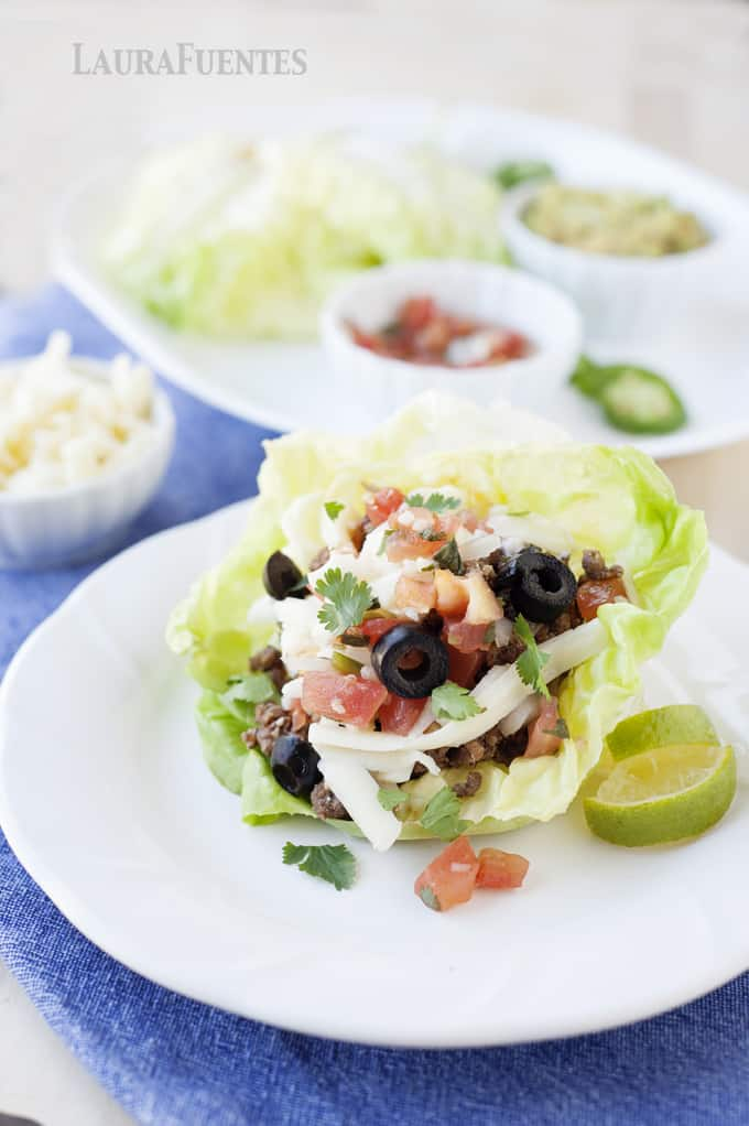 Taco Stuffed Lettuce Cups