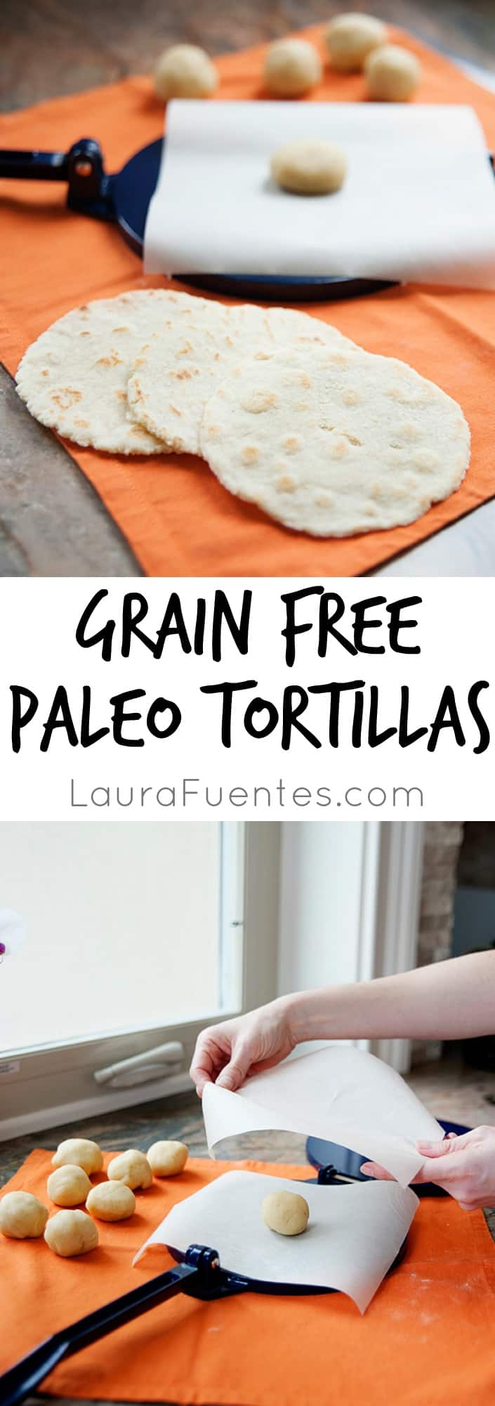 Grain Free Paleo Tortillas: the perfect addition to taco night.
