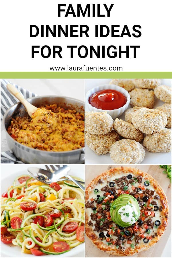 kid friendly dinner ideas for tonight