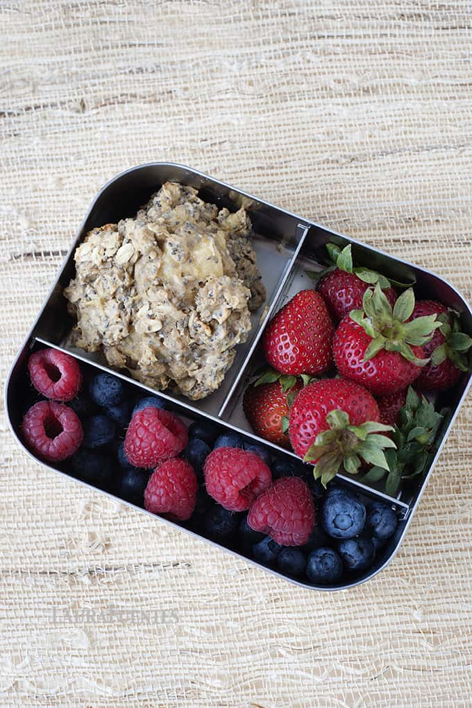 Back to School: High Protein Lunchbox Cookie