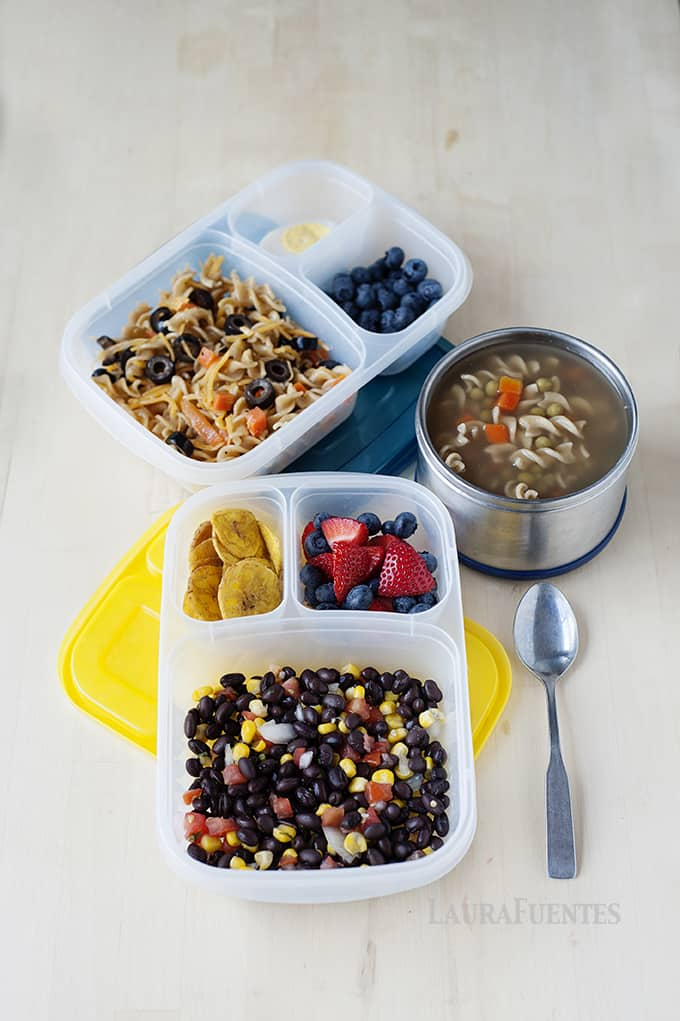 Easy lunches made with leftovers! Perfect for back to school and the office!