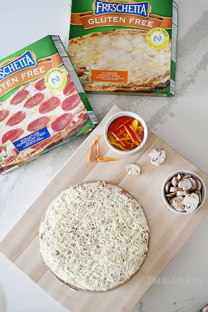 DIY Gluten Free Pizza Night! Pizza night made easy for the whole family.