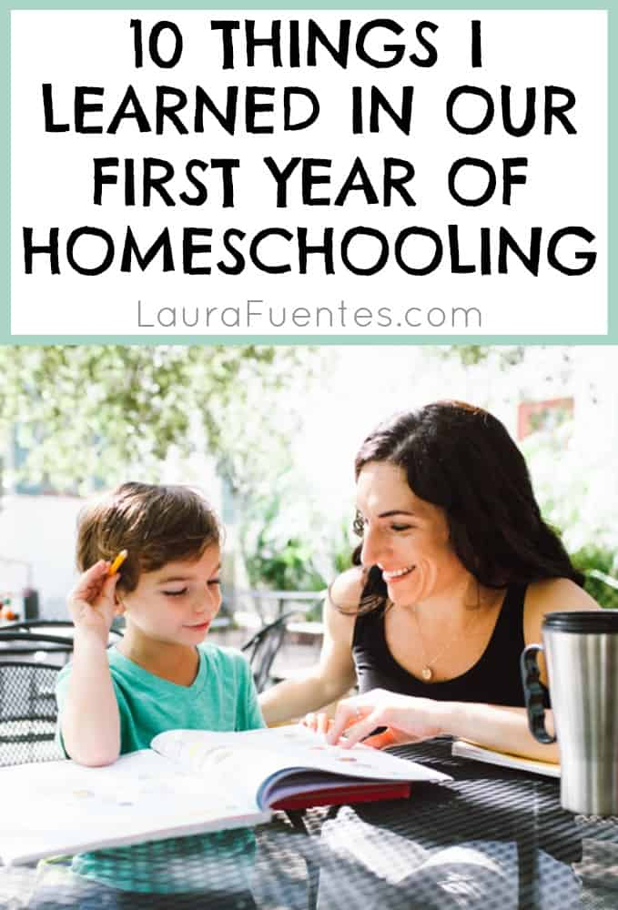 10 things I have learned from homeschooling.