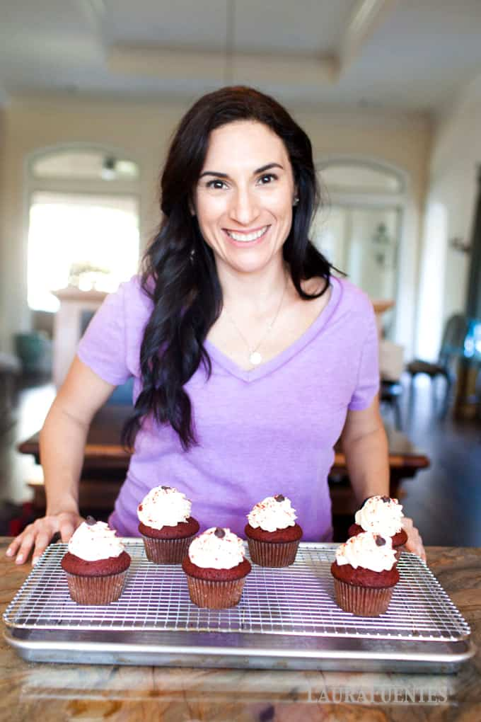 Red Velvet Cupcakes: perfect for any occasion, especially a party! Made with Bob's Red Mill, these are a tasty treat and come out perfect every time.