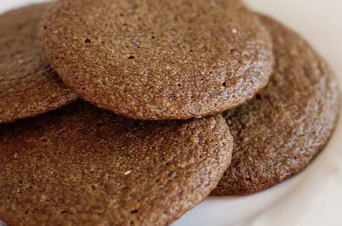 Holiday Cookies: Chewy Gingerbread Cookies