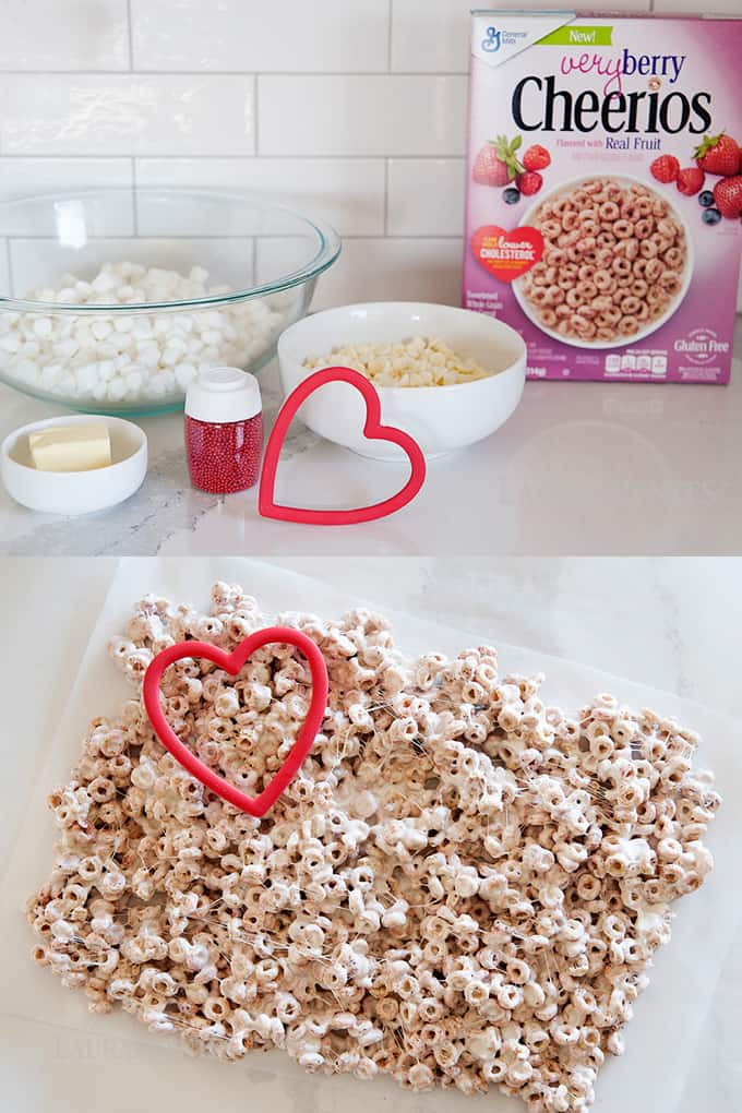 Very Berry Valentine Treats: This is the perfect recipe for us busy parents when you need to bring a treat to your kids' school.