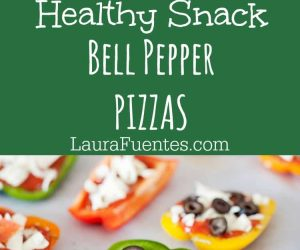 Bell Pepper Pizza: A fun way to make grain-free pizzas and use up extra veggies in the fridge.