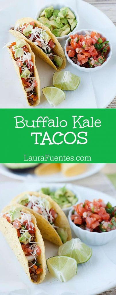 Is that really Kale in your tacos? Yes! You need to check out this delicious recipe from one of my readers.