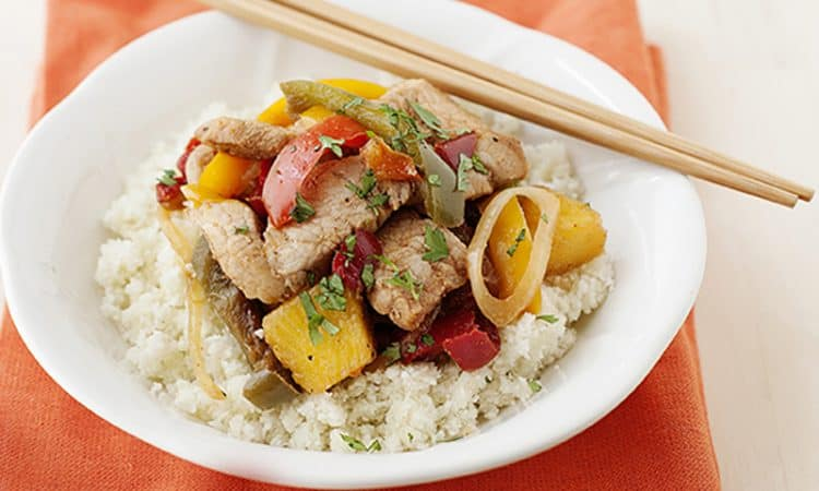 Jamaican Pork & Pineapple Stir-Fry