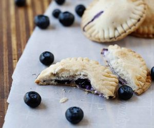 These blueberry hand pies have a bit of a surprise for you, a slightly tangy lemon flavor and the perfect combination of sweet and savory.