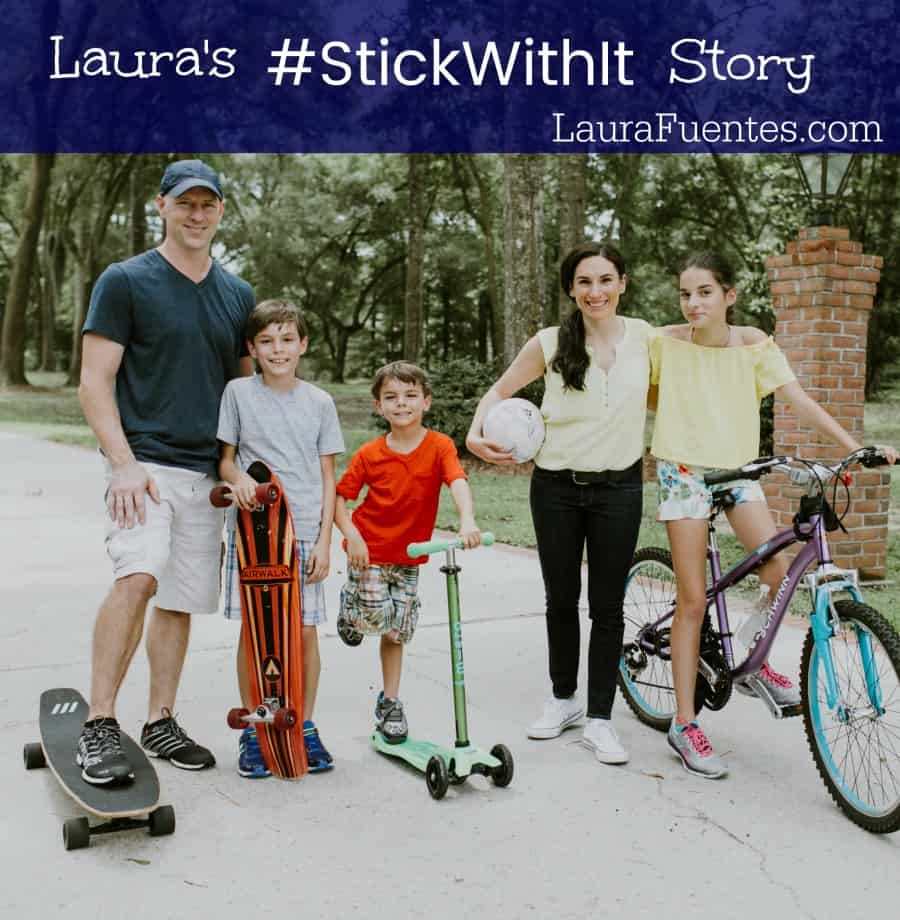 With my partner BAND-AID Brand, I'm sharing my personal #StickWithIt story of coming to the US without speaking English and found the motivation to succeed!