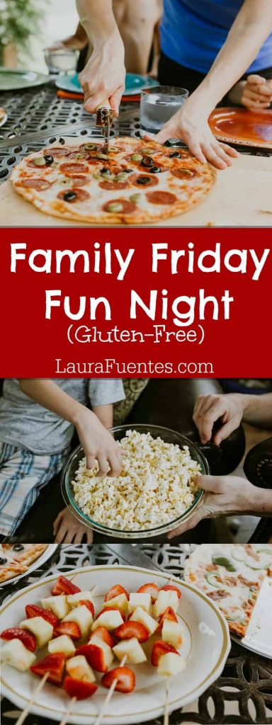 3 Fun ways to make Gluten-Free Fun | Having an established family night has pulled our family together. We focus on the fun activities, game, and movies, check out our Family Fun Fridays!