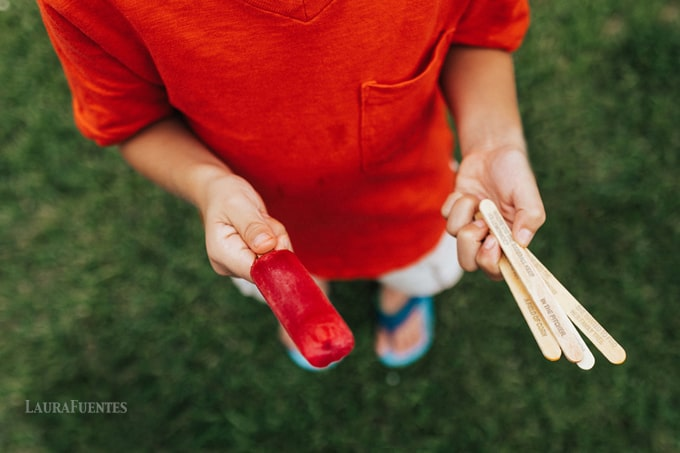 It's a popsicle kind of day after our 3 summer activities the kids picked for us to do this week . Check out these fun activities on the blog: http://bit.ly/3kidactivities