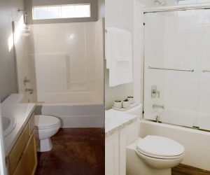 MOMable's Studio Small Bathroom Remodel