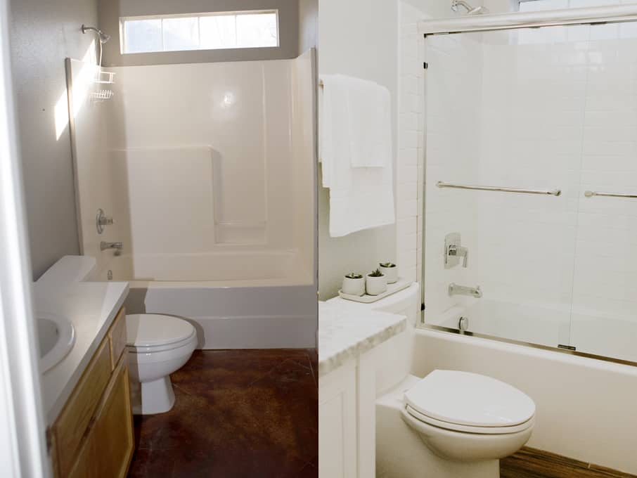 Momables Studio Small Bathroom Remodel Laura Fuentes