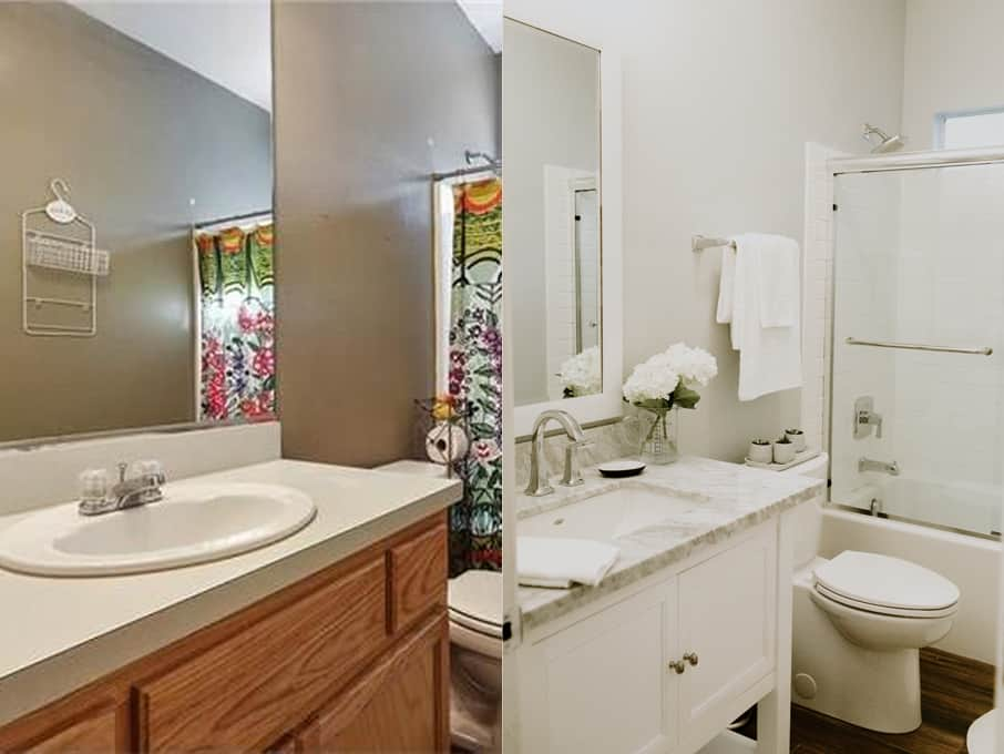 MOMables' Studio Small Bathroom Remodel