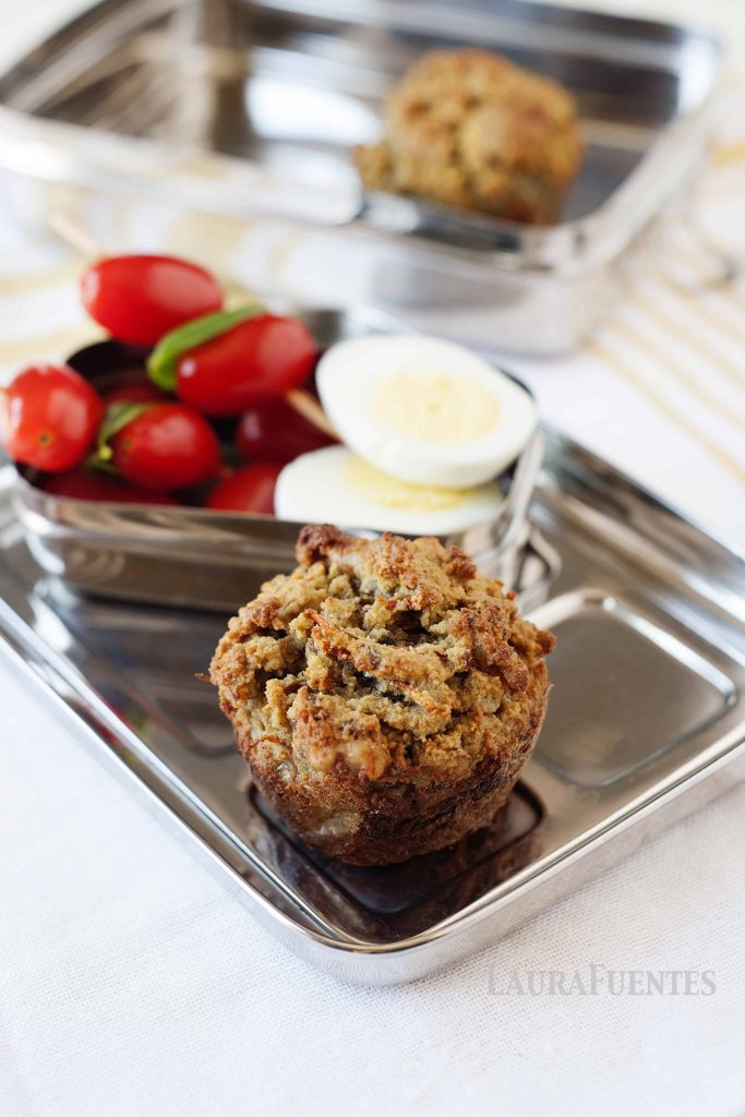 Grain Free Morning Glory Muffins: dense, nutritious and keep you feeling full throughout the day. Great for breakfast on the go or to have as a snack.
