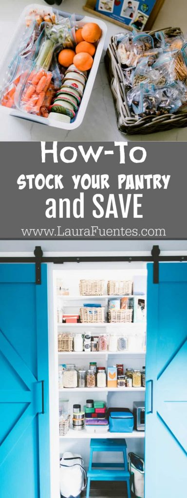 How to Stock your Pantry and Save this Back to School | After a couple of weekends shopping for school supplies, books, and new backpacks... all I see is money flying out of my wallet. Now it is time to show you how I started saving this Back-to-School Season!