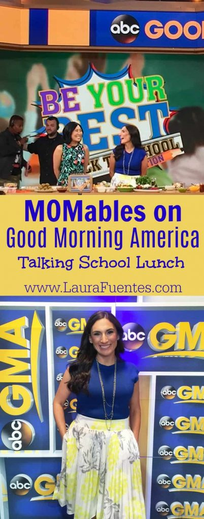 My unforgettable 24hours in NYC to go on Good Morning America are on the blog today! Check out the post and my behind-the-scenes video! #GMA http://bit.ly/laurafuentesgma