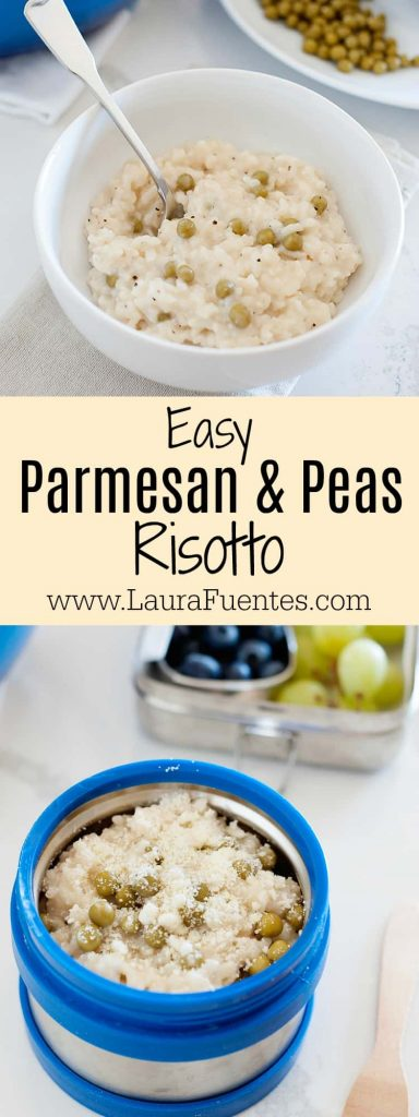Who has time to stand over the stove to make risotto? Not me. I'm sharing how I make it where it practically cooks itself, and with Libby's Vegetable Cups I can now make it easier than ever to please my picky eaters!
