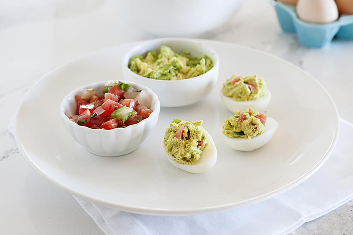 Mexican Fiesta Deviled Eggs