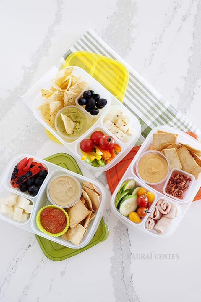 Easy school lunches that you can pack in minutes! Check out these 3 healthy bento box lunch ideas with fresh ingredients.