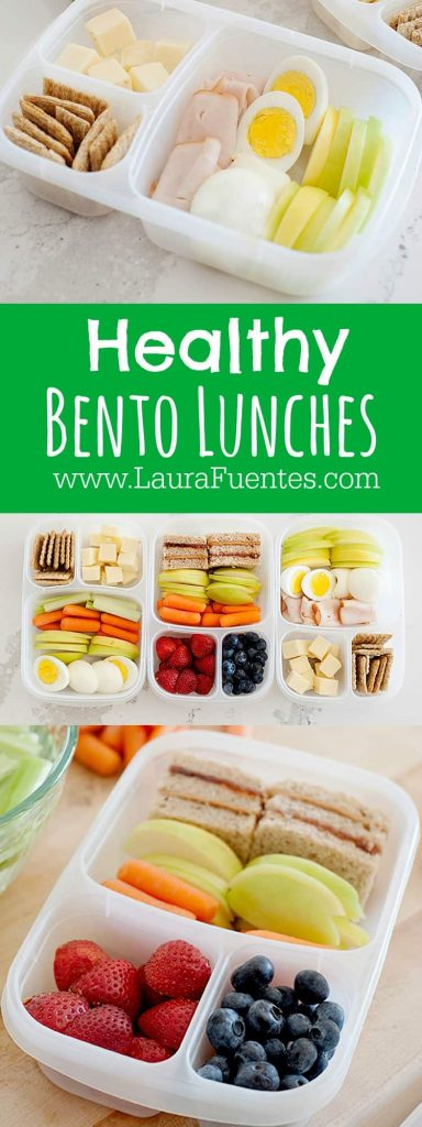 Healthy Bento Lunches | The options are endless, but here are a few ways we love to eat our veggies!