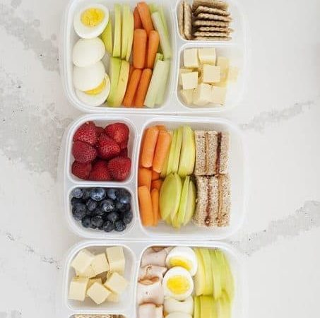 3 Easy Back to School Healthy Bento Lunches