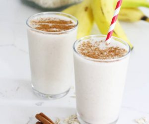 Healthy Cinnamon Roll Smoothie