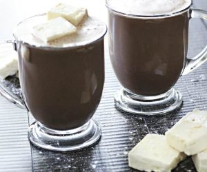 Healthy High Protein Sugar-Free Hot Chocolate