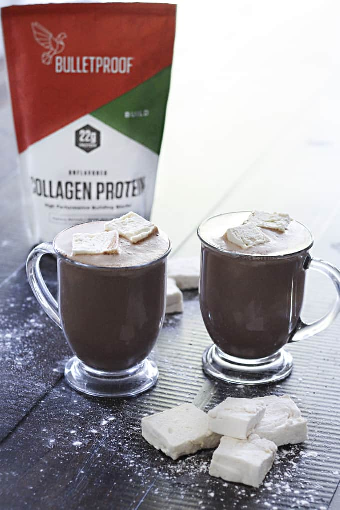 Add a little collagen protein to your hot chocolate recipe for an added nutritional boost!