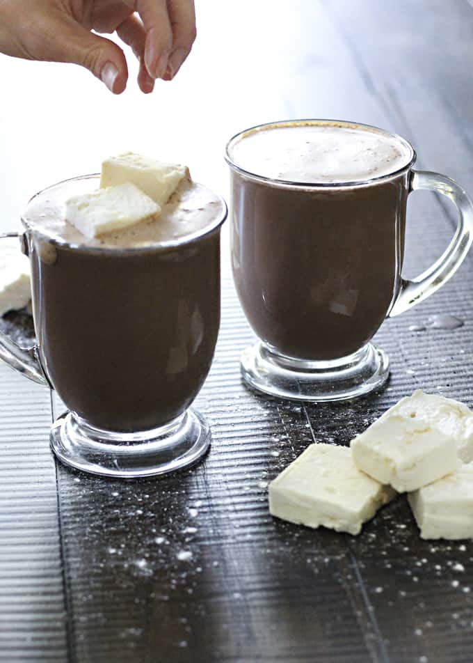 A hot chocolate that is healthy and full of good-for-you protein? Yes! You've heard it right. It's also sugar-free.