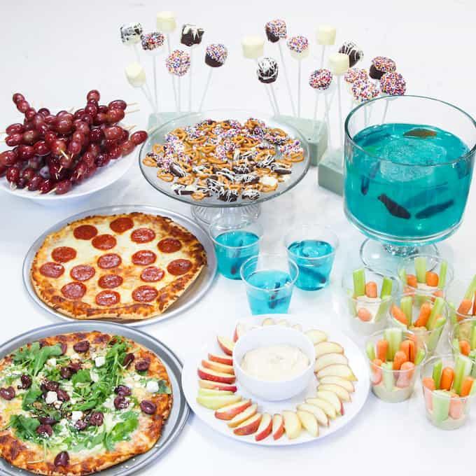 Gluten Free Birthday Party Menu