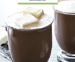 sugar free, protein rich hot chocolate